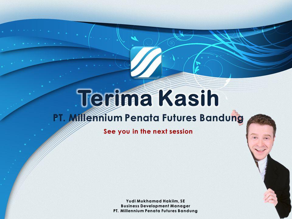 Terima Kasih PT. Millennium Penata Futures Bandung