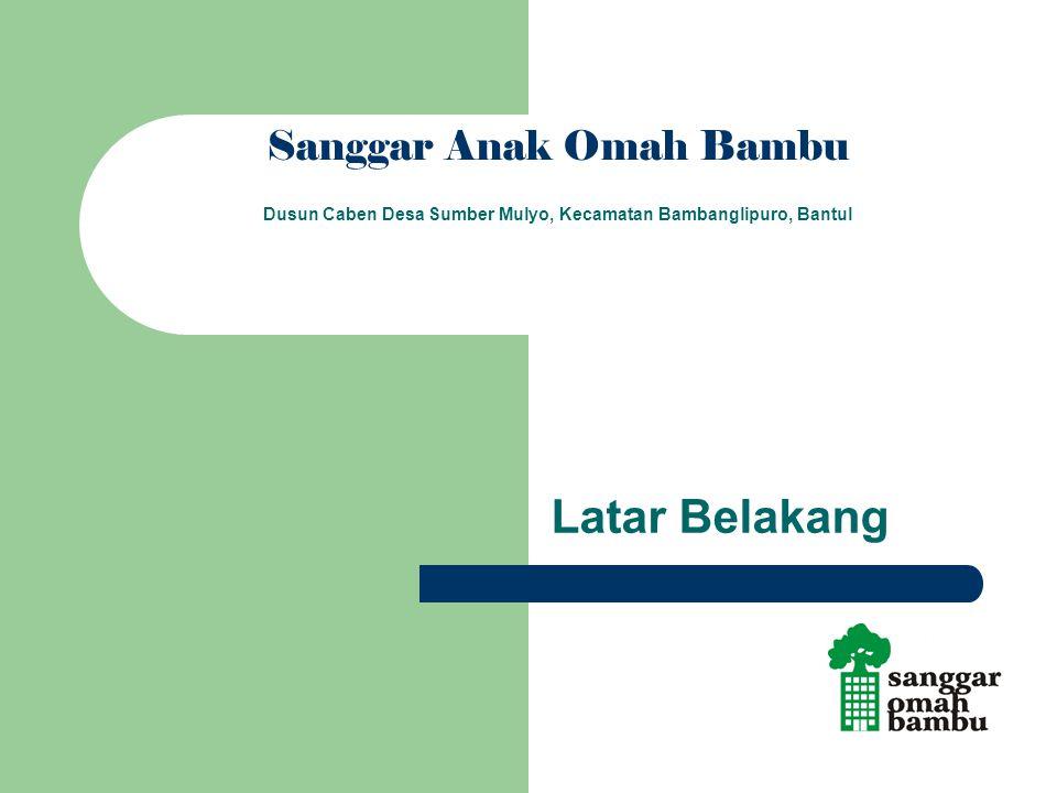 Sanggar Anak Omah Bambu Dusun Caben Desa Sumber Mulyo, Kecamatan Bambanglipuro, Bantul