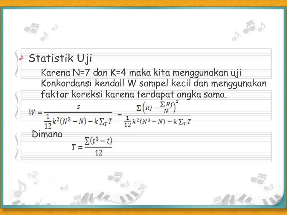 Statistik Uji