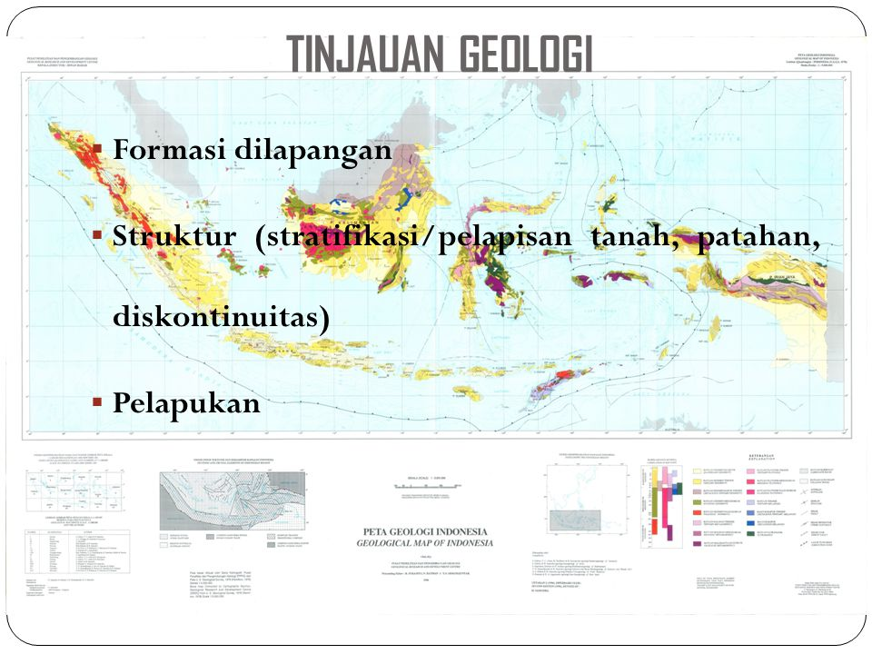 TINJAUAN GEOLOGI Formasi dilapangan