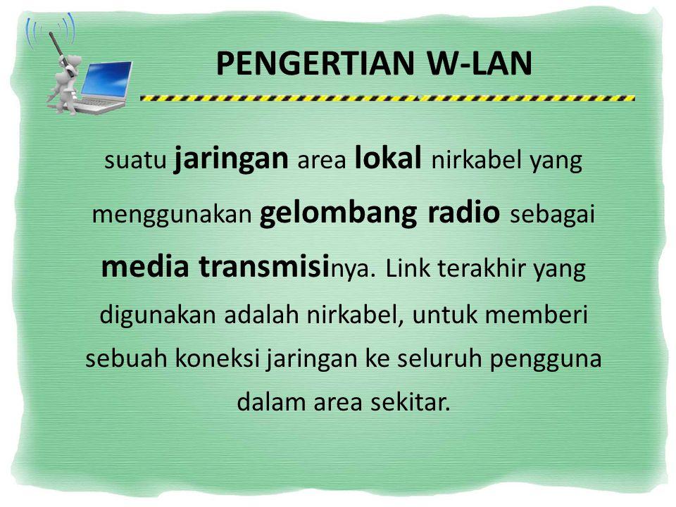 PENGERTIAN W-LAN