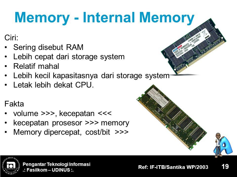 Memory - Internal Memory