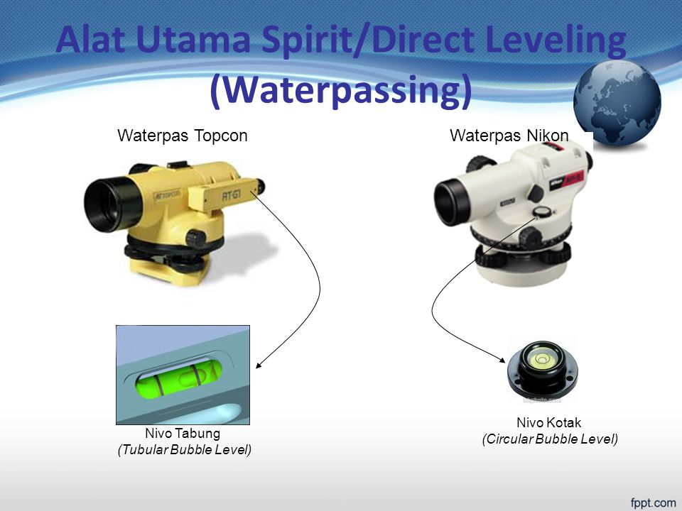 Alat Utama Spirit/Direct Leveling (Waterpassing)