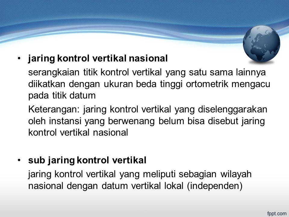 jaring kontrol vertikal nasional
