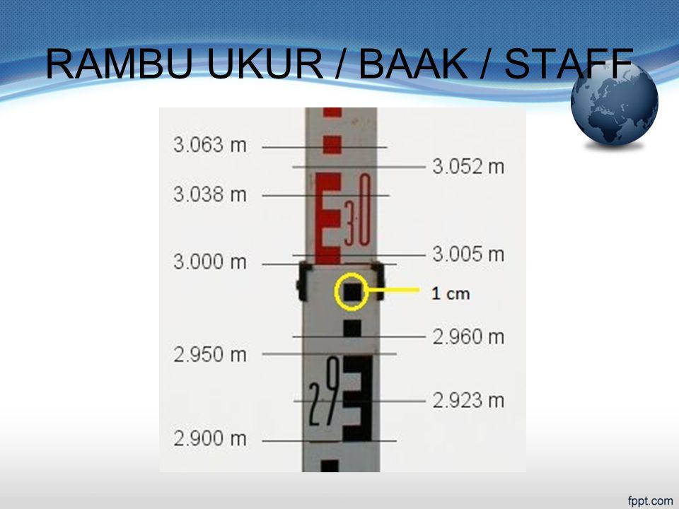 RAMBU UKUR / BAAK / STAFF