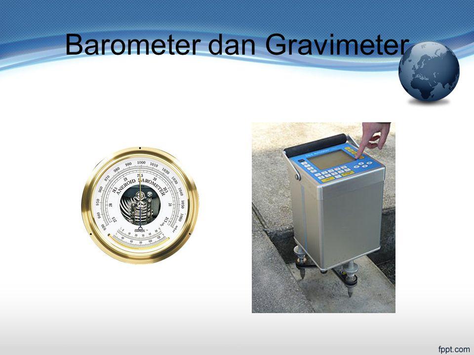 Barometer dan Gravimeter