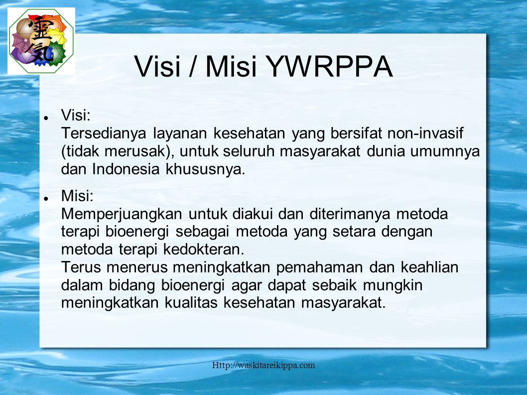 Visi / Misi YWRPPA