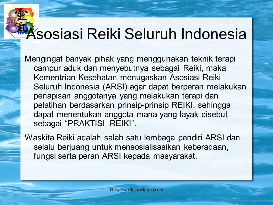 Asosiasi Reiki Seluruh Indonesia