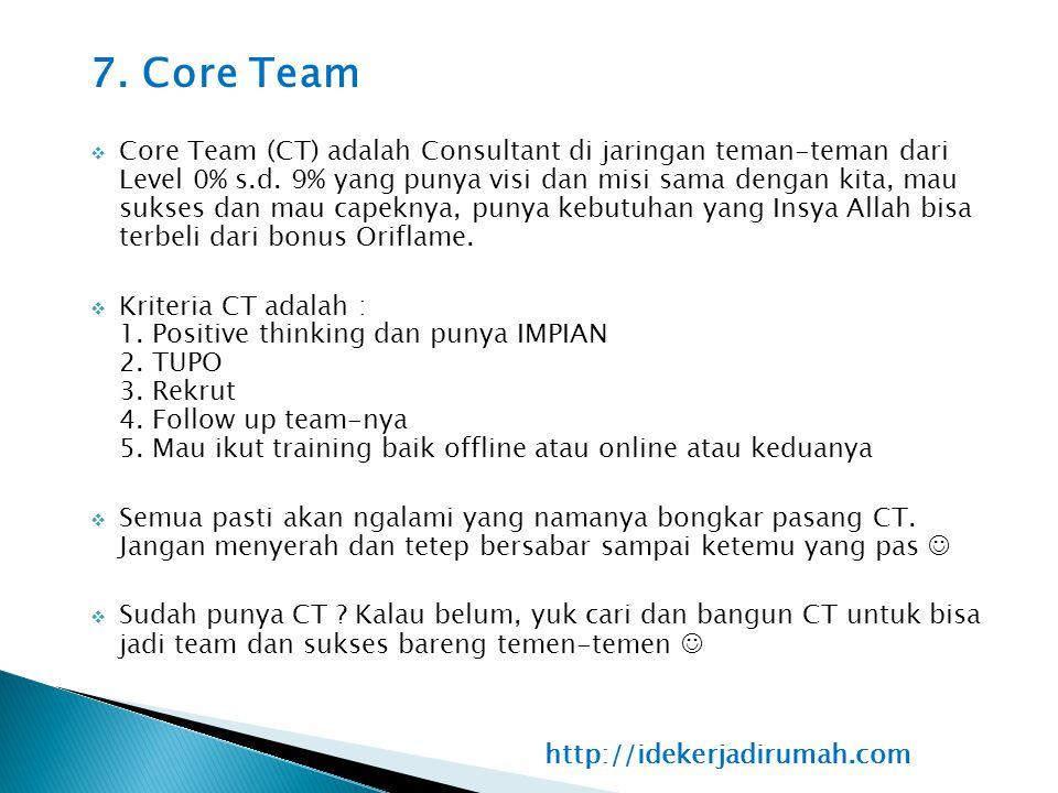 7. Core Team