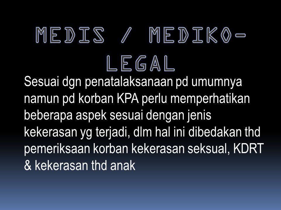 MEDIS / MEDIKO-LEGAL