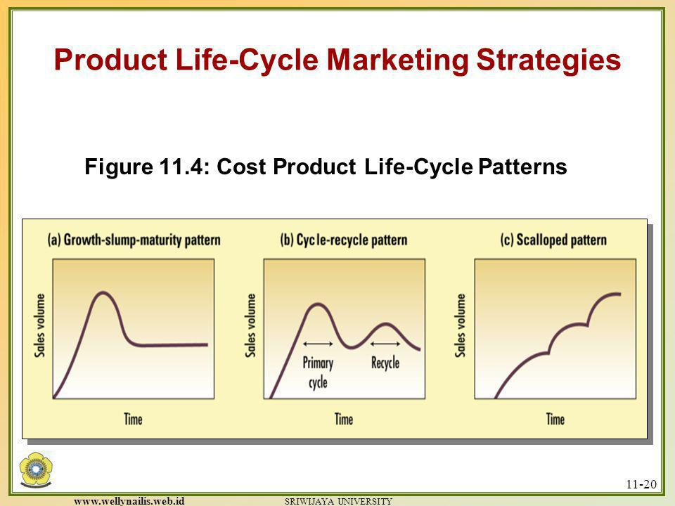 Figure 11.4: Cost Product Life-Cycle Patterns