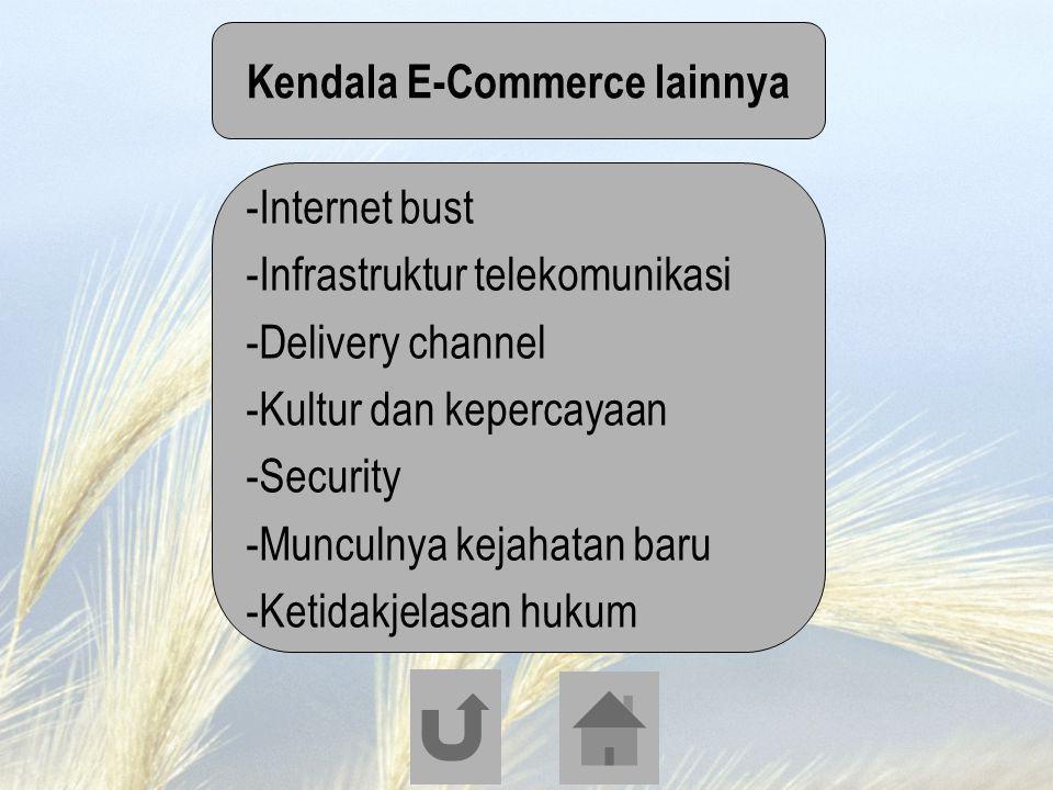 Kendala E-Commerce lainnya