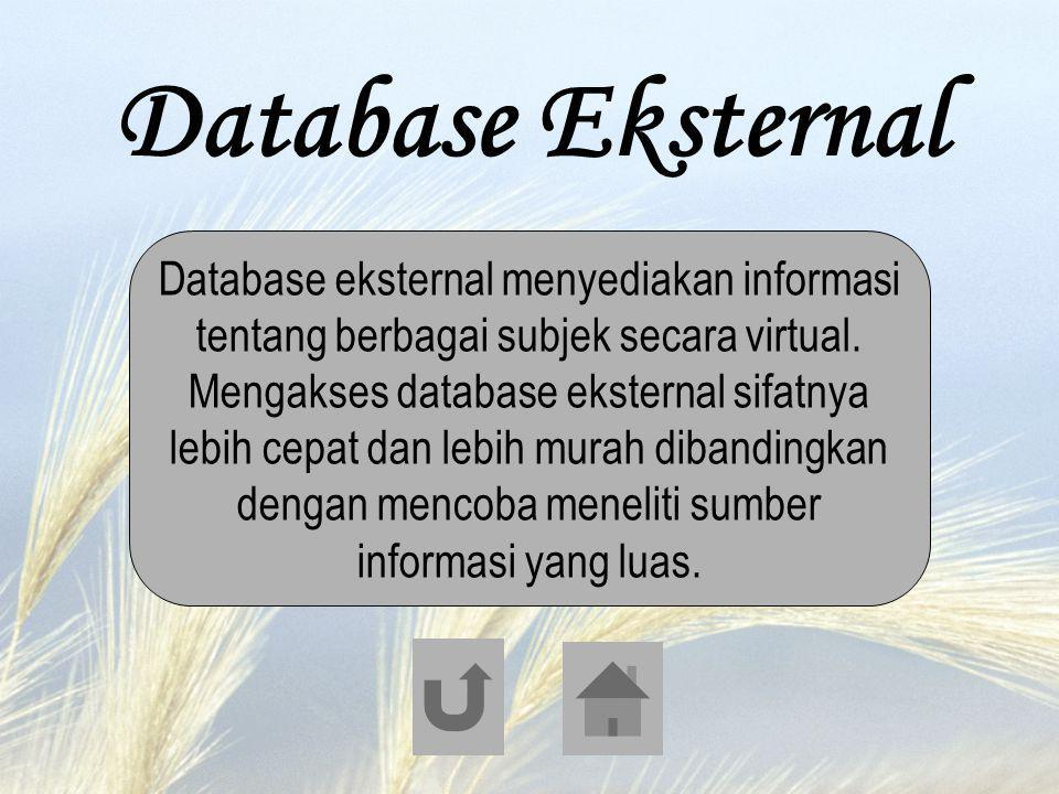 Database Eksternal