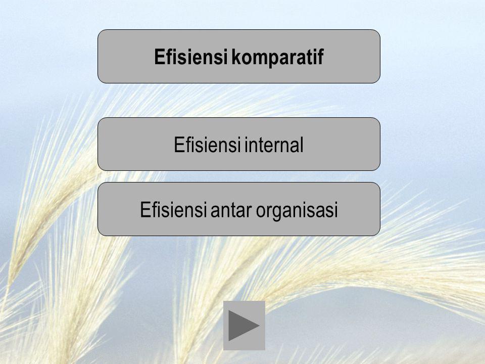 Efisiensi antar organisasi