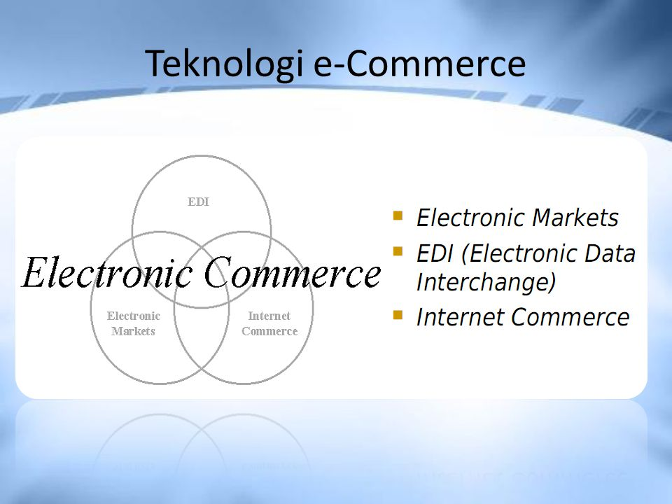 Teknologi e-Commerce