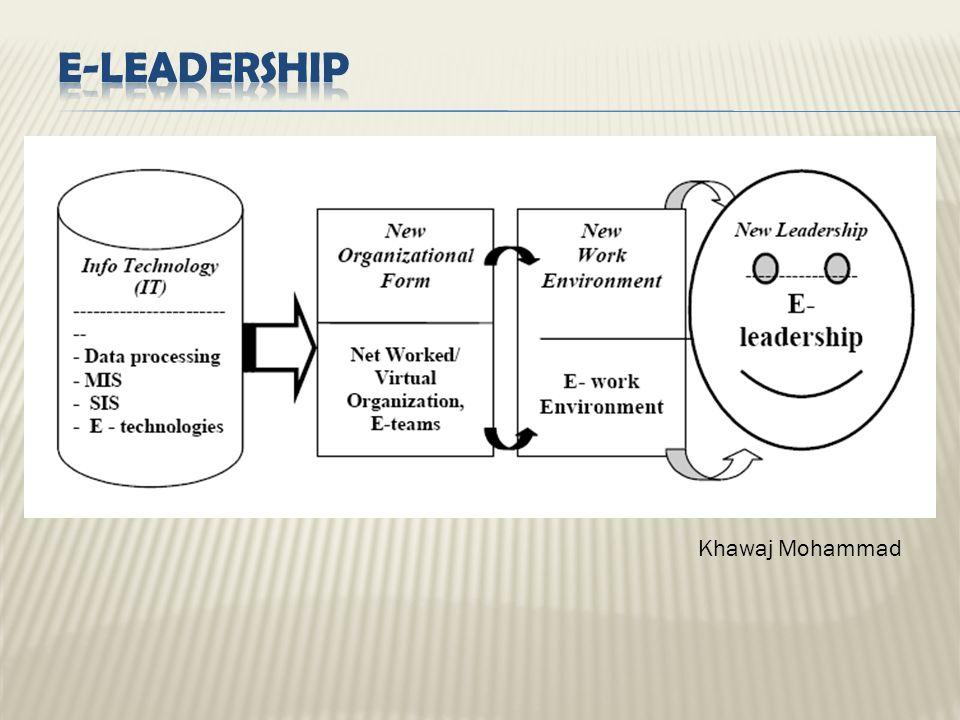 E-Leadership Khawaj Mohammad