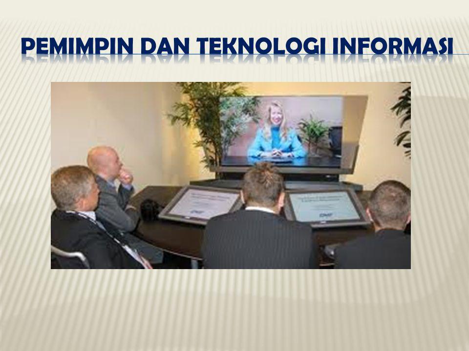 Pemimpin dan Teknologi Informasi