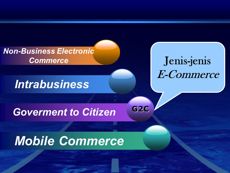 Non-Business Electronic Commerce