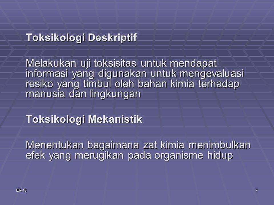 Toksikologi Deskriptif