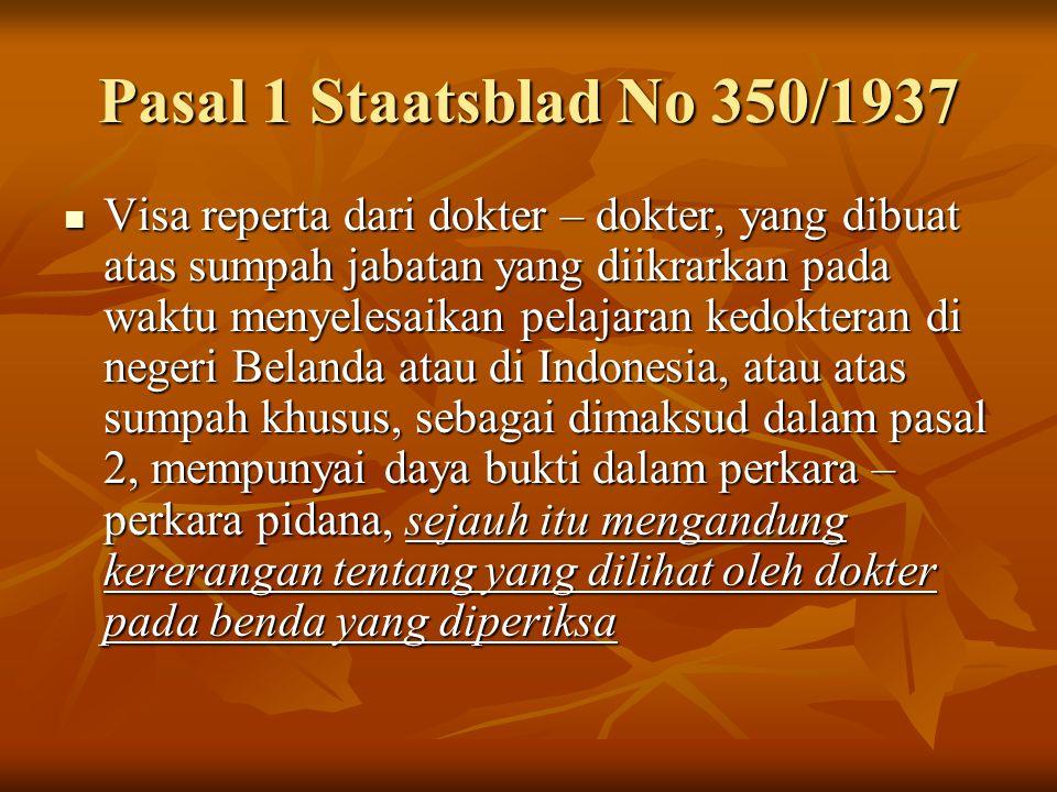 Pasal 1 Staatsblad No 350/1937