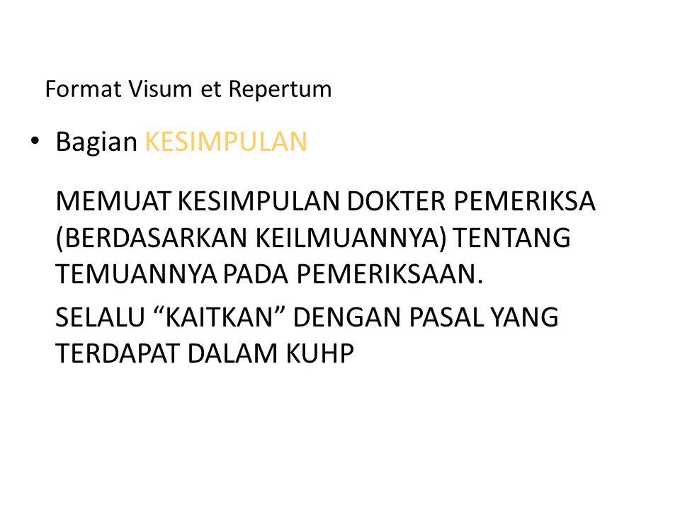 Format Visum et Repertum