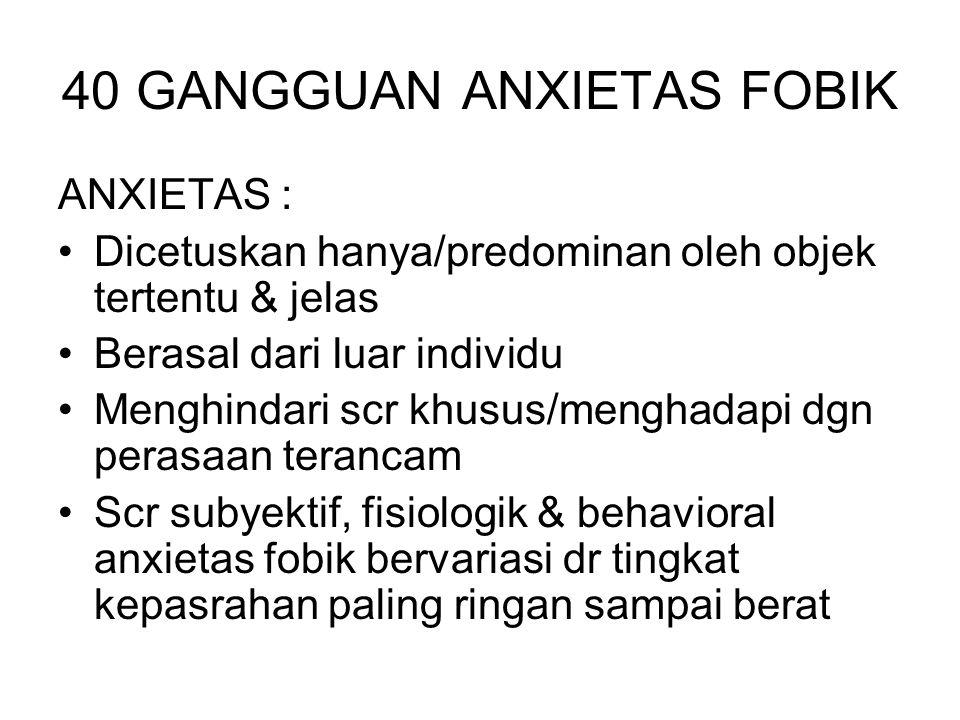 40 GANGGUAN ANXIETAS FOBIK