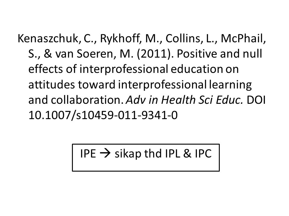Kenaszchuk, C. , Rykhoff, M. , Collins, L. , McPhail, S