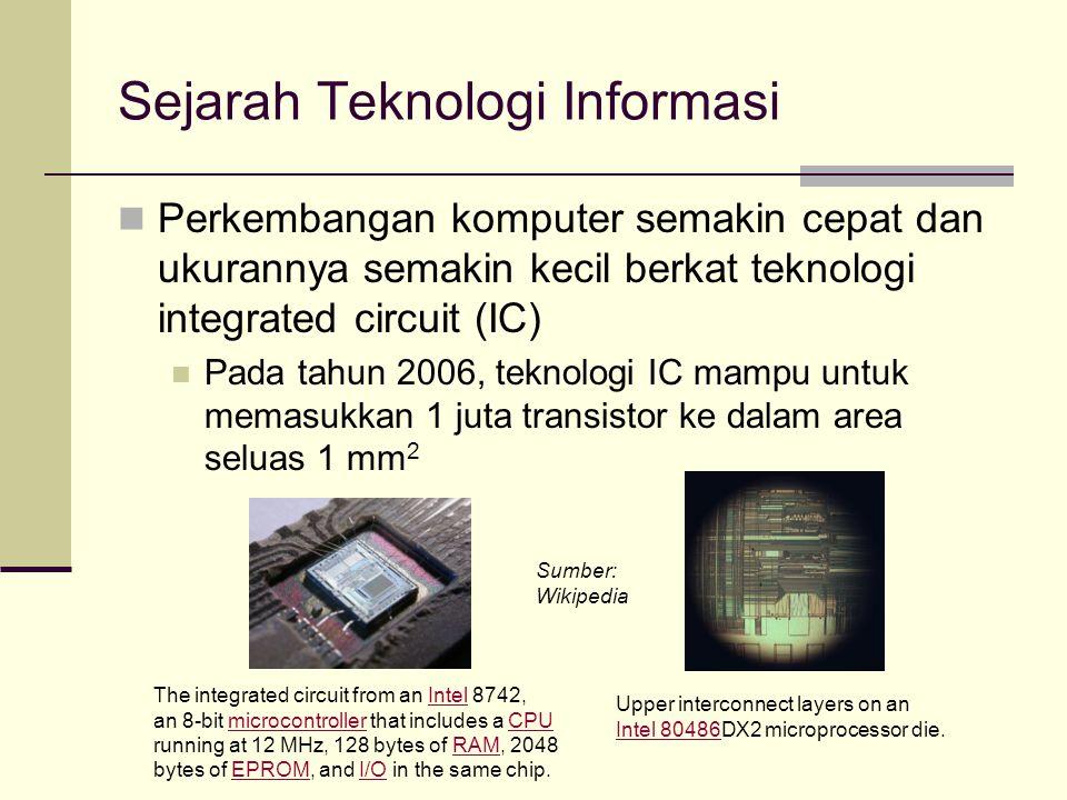 Sejarah Teknologi Informasi