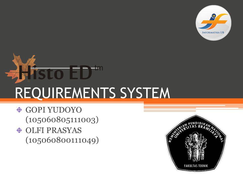 GOPI YUDOYO (105060805111003) OLFI PRASYAS (105060800111049)