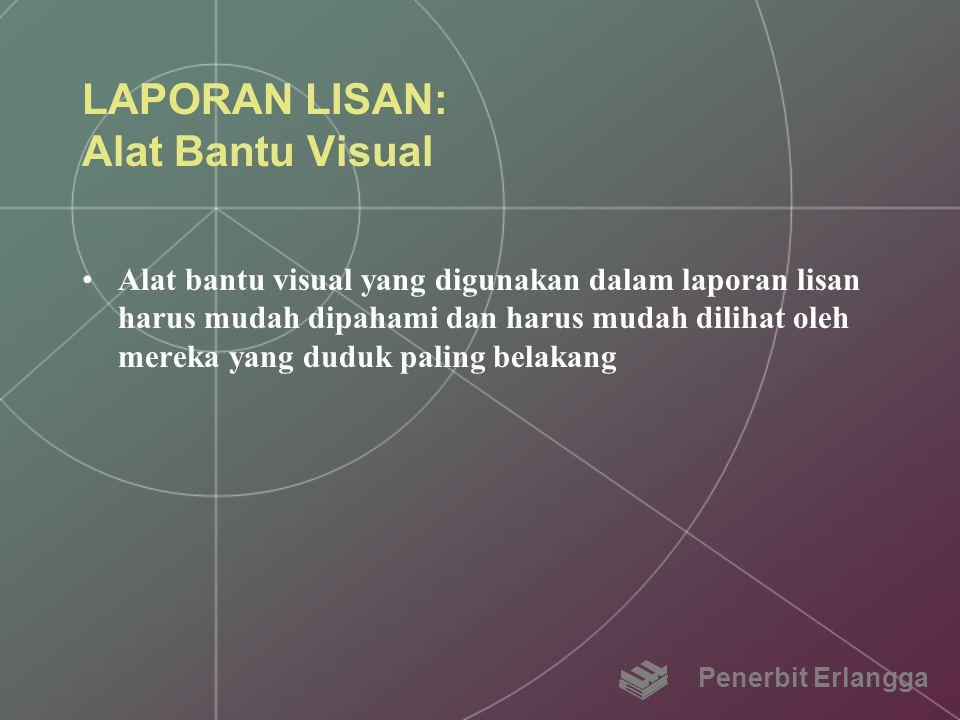 LAPORAN LISAN: Alat Bantu Visual
