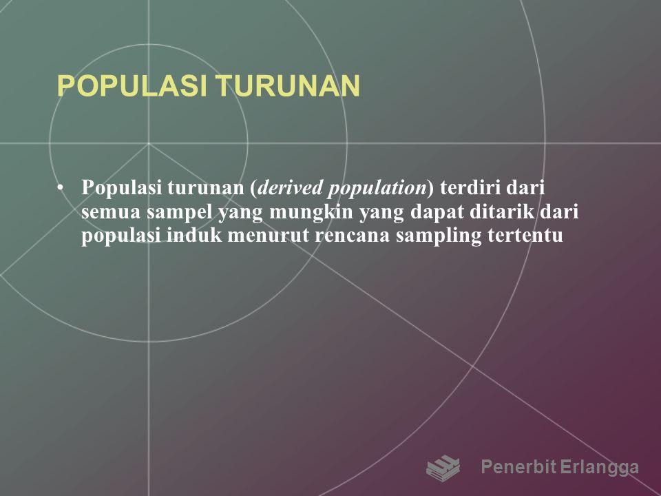 POPULASI TURUNAN