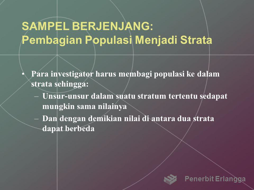 SAMPEL BERJENJANG: Pembagian Populasi Menjadi Strata