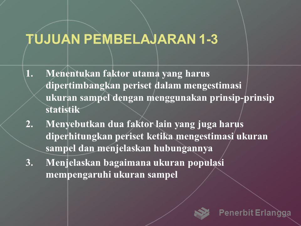 TUJUAN PEMBELAJARAN 1-3