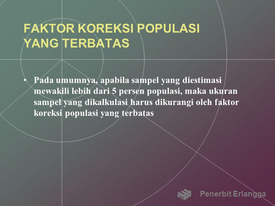 FAKTOR KOREKSI POPULASI YANG TERBATAS