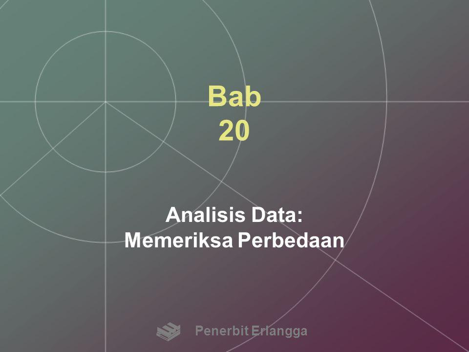 Analisis Data: Memeriksa Perbedaan