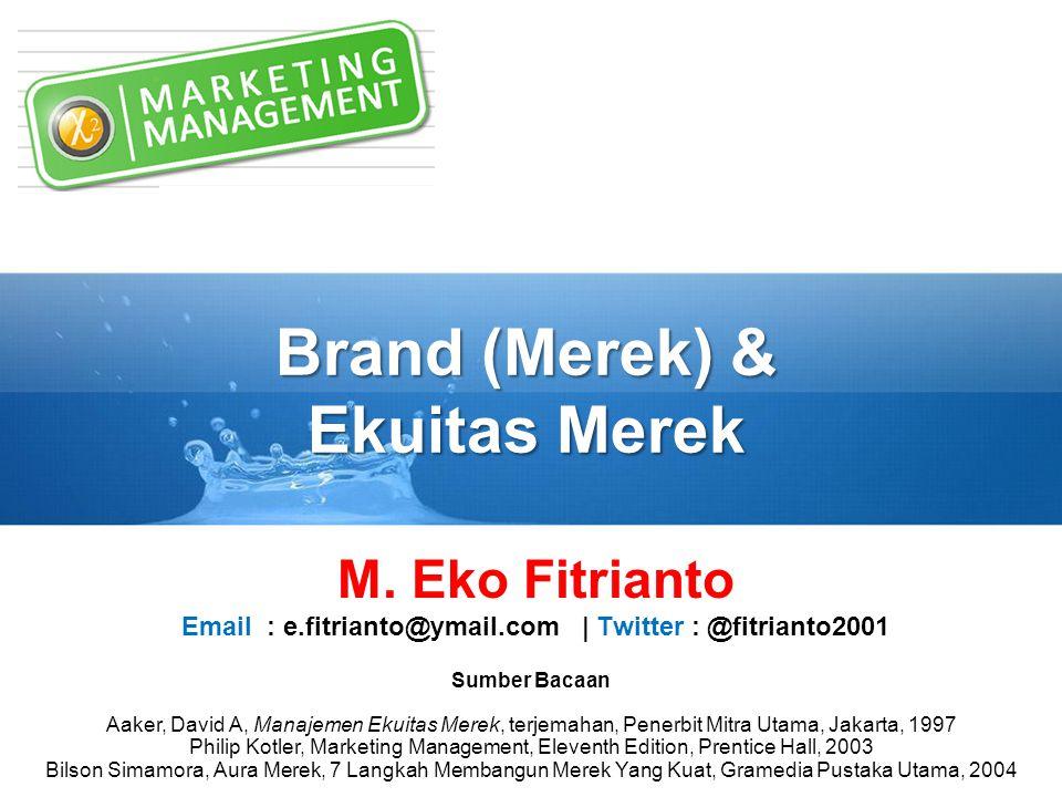 Brand (Merek) & Ekuitas Merek