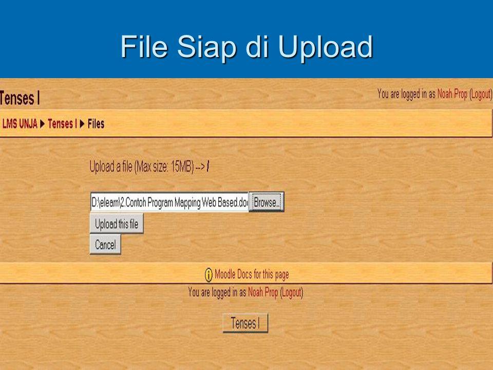 File Siap di Upload