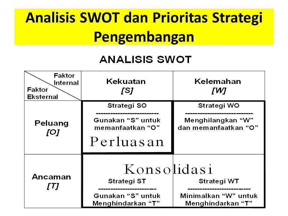 Analisis SWOT dan Prioritas Strategi Pengembangan
