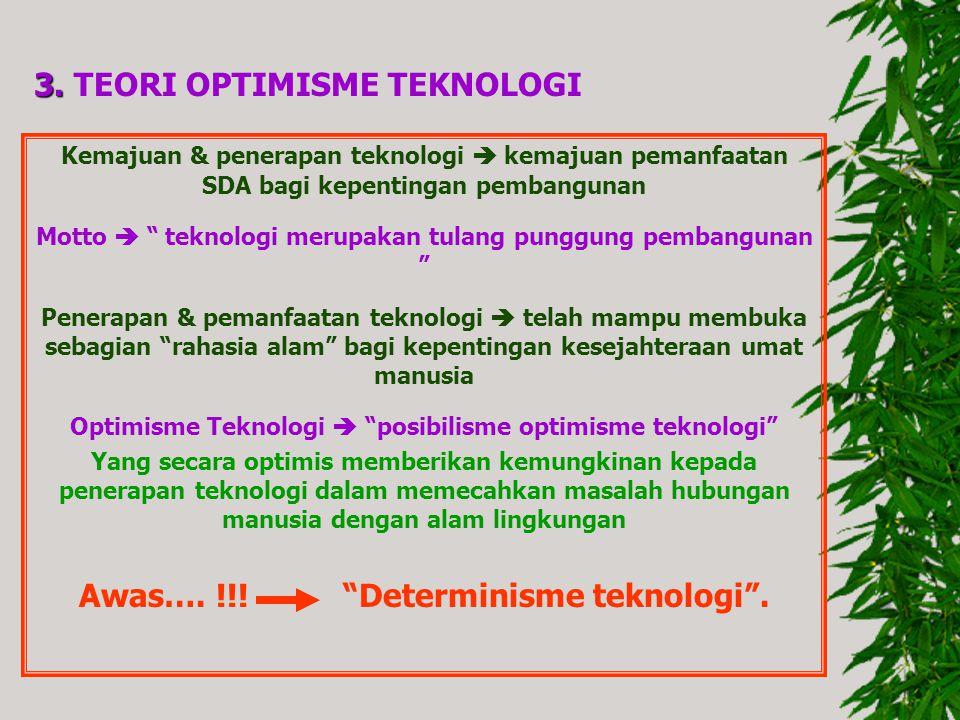 Awas…. !!! Determinisme teknologi .