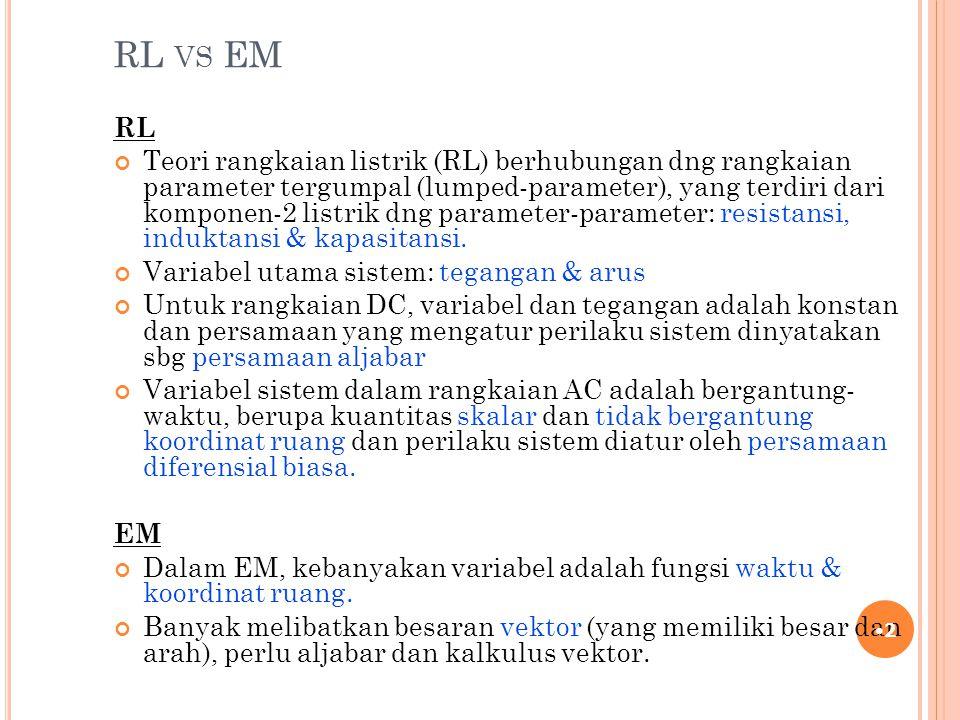RL vs EM RL.