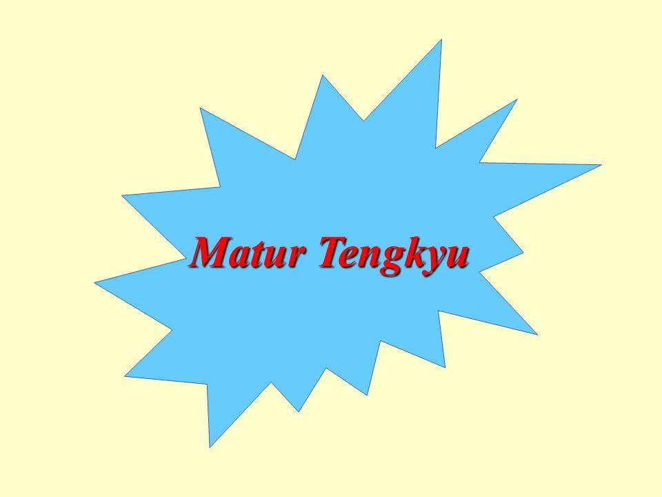 Matur Tengkyu