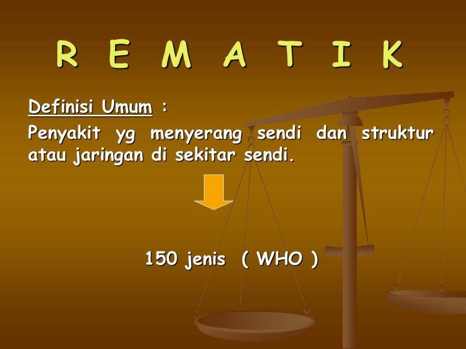 R E M A T I K Definisi Umum :