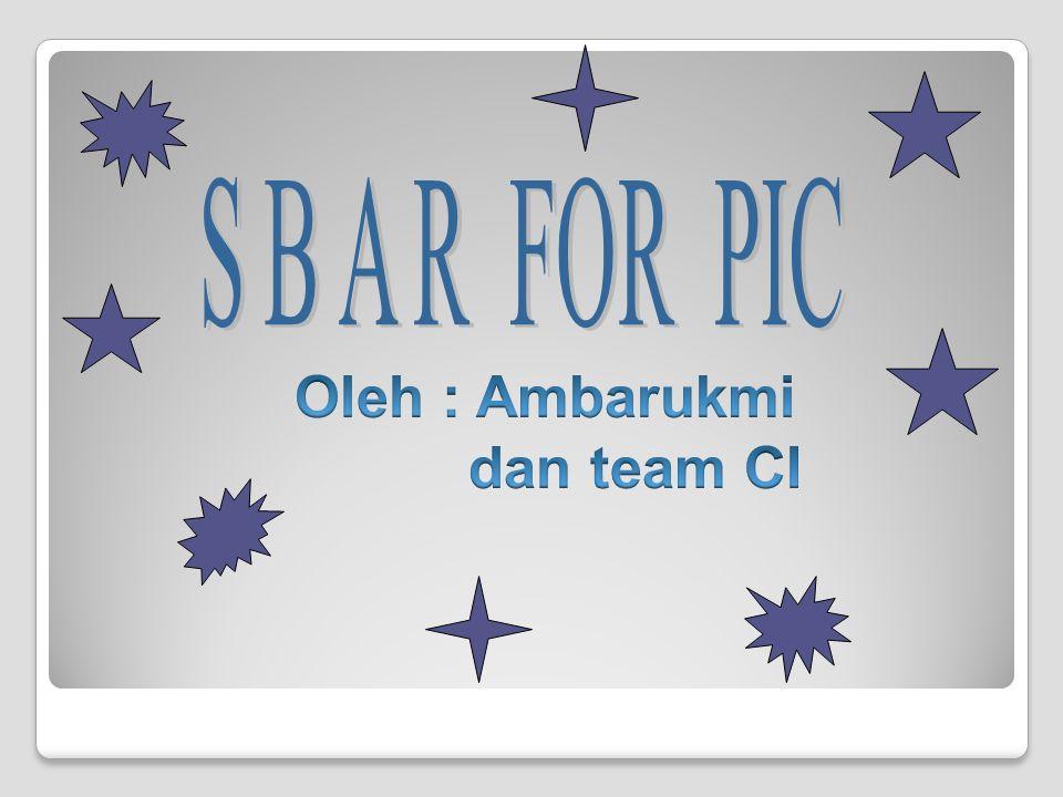Oleh : Ambarukmi dan team CI