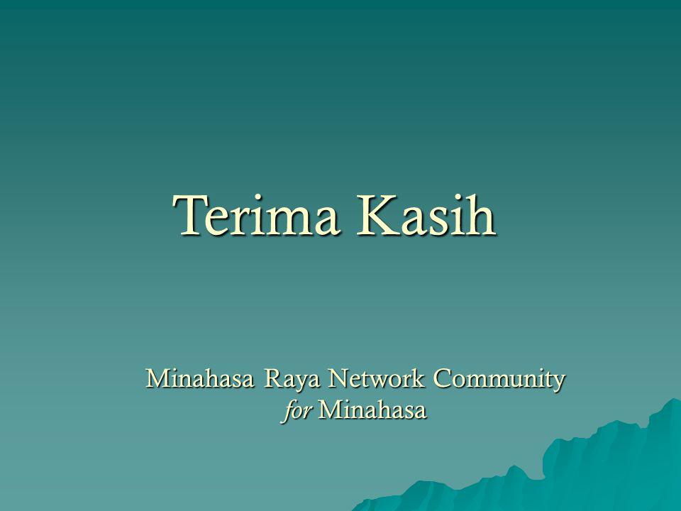 Minahasa Raya Network Community