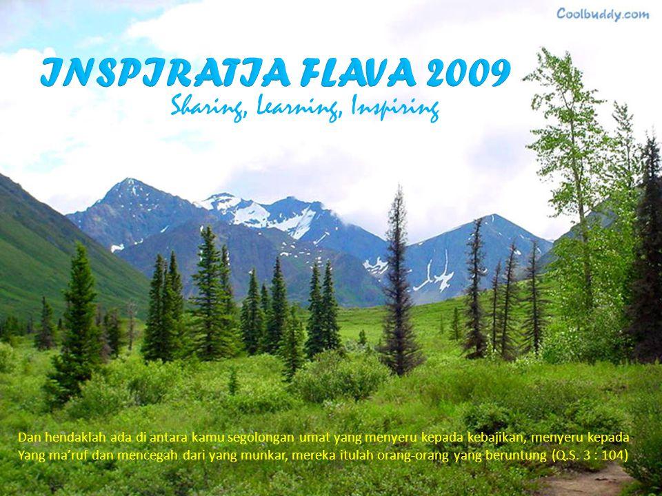 INSPIRATIA FLAVA 2009 Sharing, Learning, Inspiring