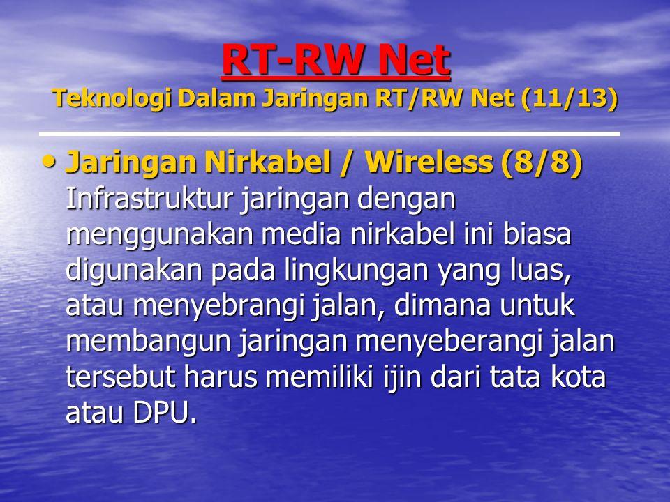 RT-RW Net Teknologi Dalam Jaringan RT/RW Net (11/13)
