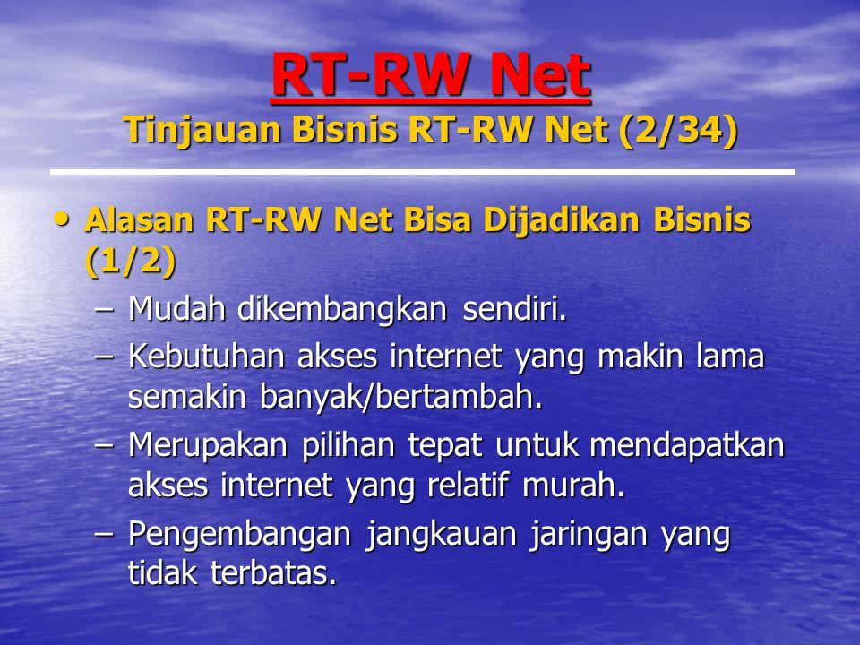 RT-RW Net Tinjauan Bisnis RT-RW Net (2/34)