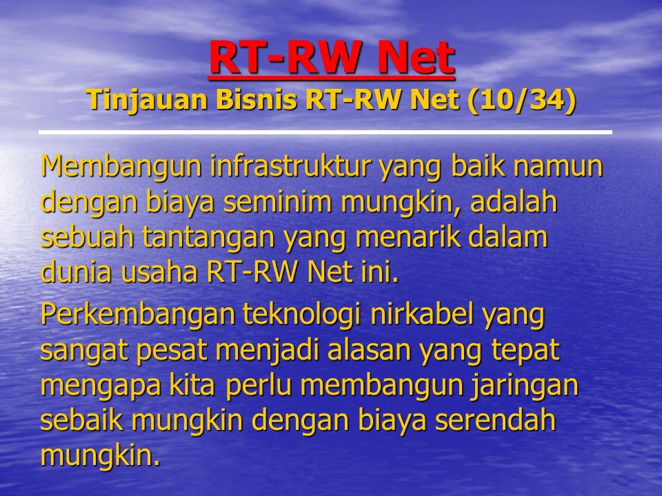 RT-RW Net Tinjauan Bisnis RT-RW Net (10/34)