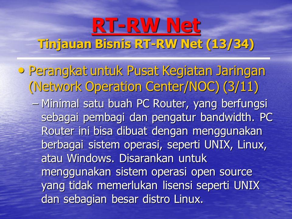 RT-RW Net Tinjauan Bisnis RT-RW Net (13/34)