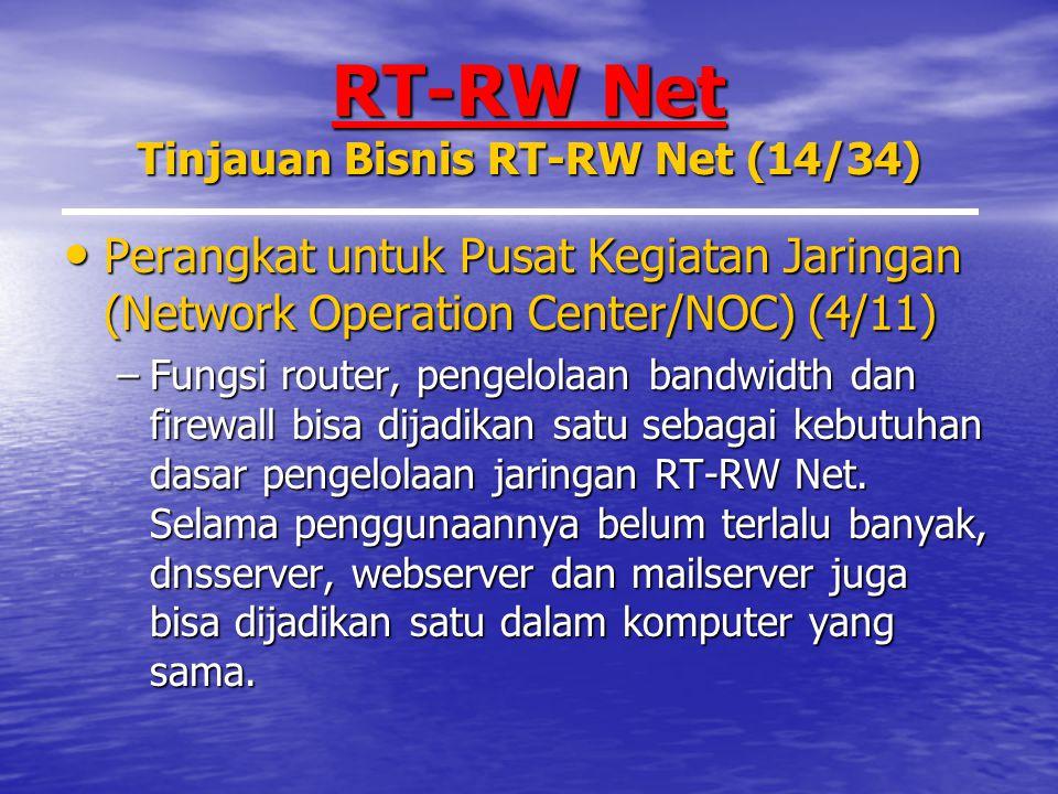 RT-RW Net Tinjauan Bisnis RT-RW Net (14/34)
